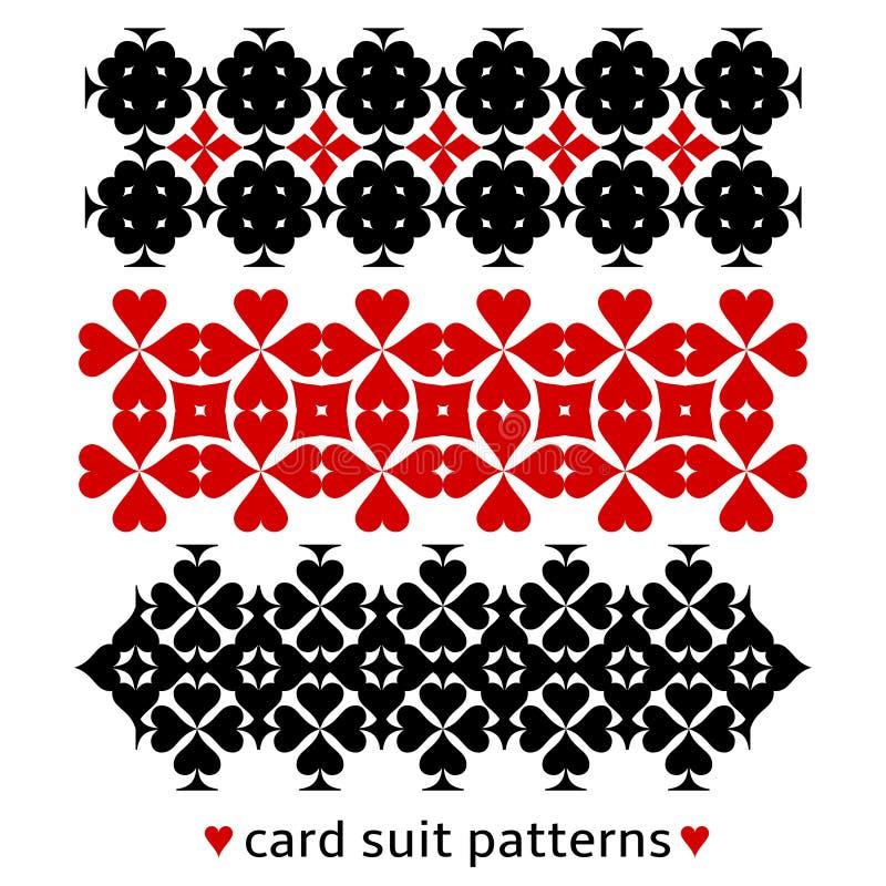 与卡片衣服的样式 向量例证
