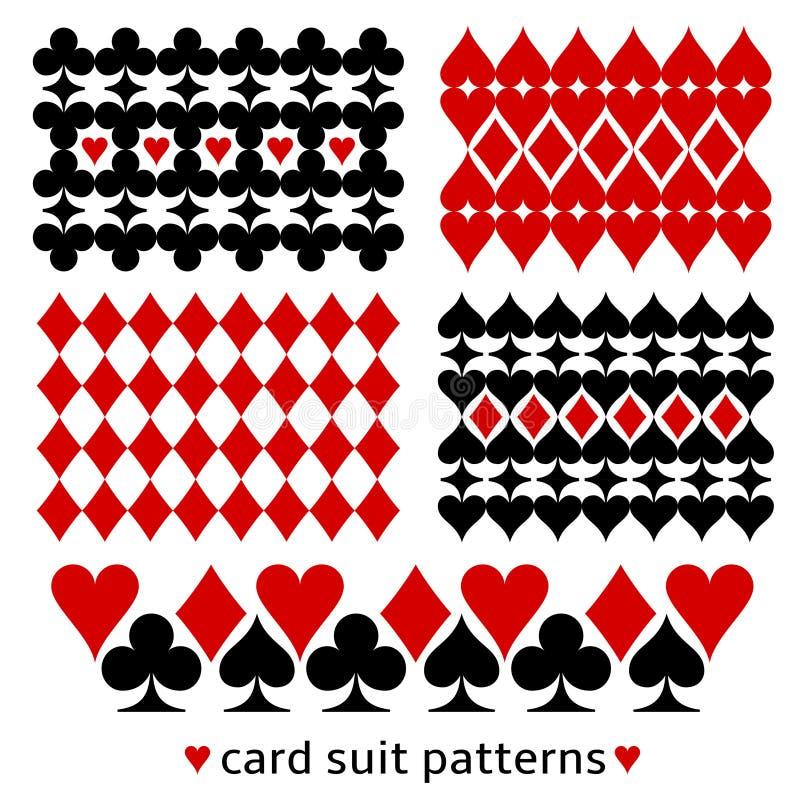 与卡片衣服的背景样式 向量例证