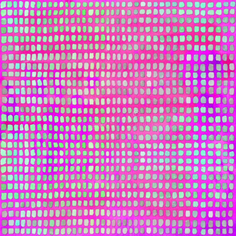 与发光的长方形的水彩明亮的背景 E 皇族释放例证