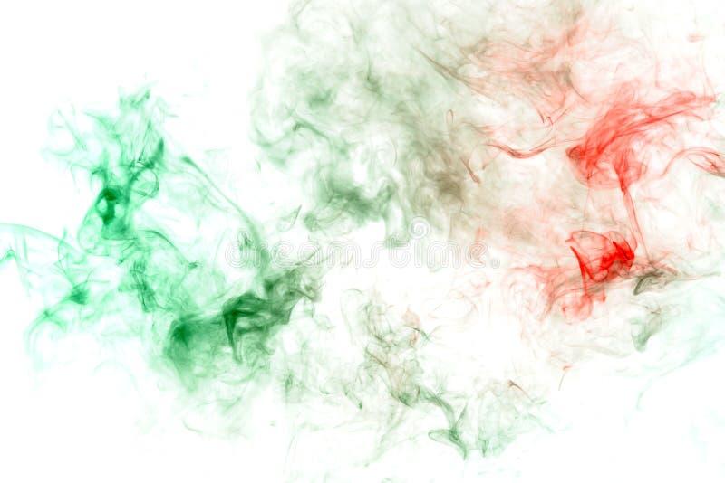 与吸收红色液体作为传染或疾病的绿色有毒物质的样式 o 毒性墨水 免版税库存照片