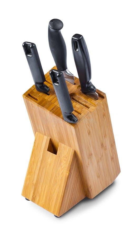 与四把刺刀子的自然竹立场, 库存图片