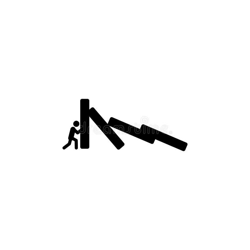 与困难象的遭遇 被克服的挑战例证的元素 优质质量图形设计象 签署符号 库存例证