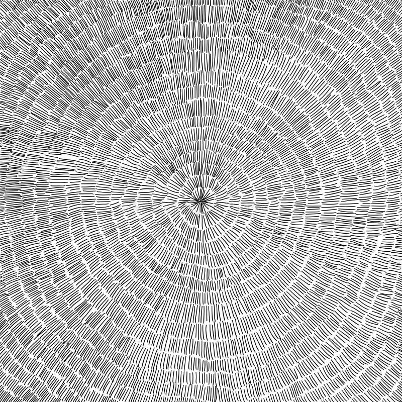 与圈子样式的手拉的传染媒介背景 库存图片