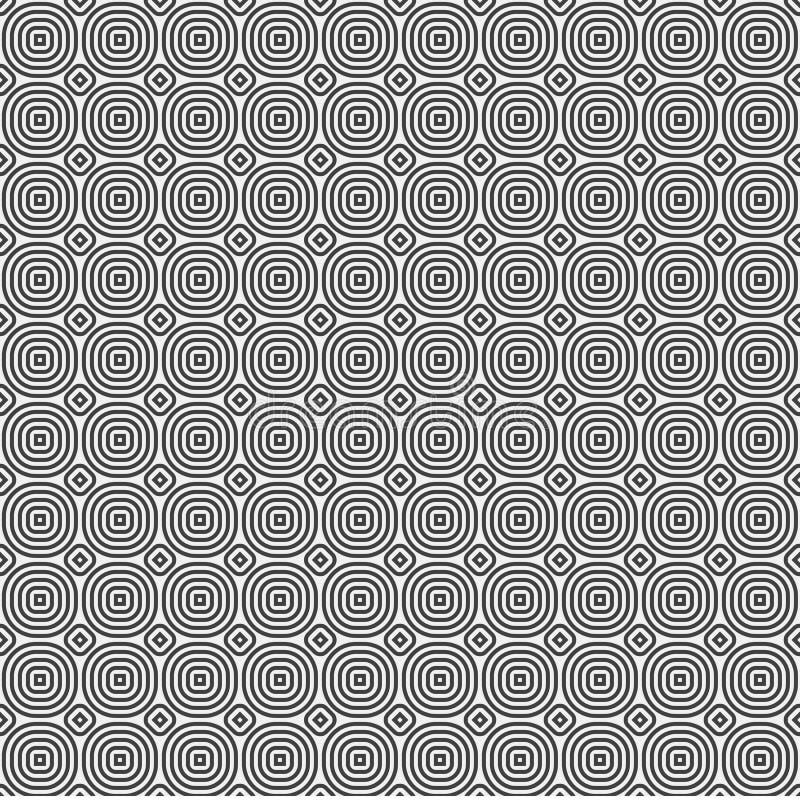 与圈子的白色抽象背景 向量例证