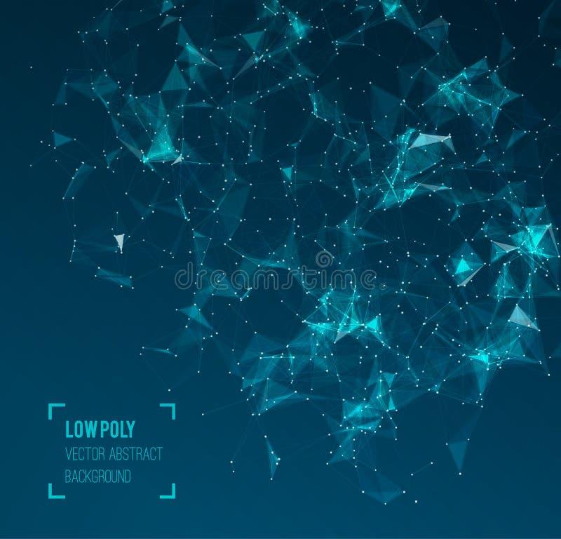 与圈子,线的抽象滤网背景和 皇族释放例证