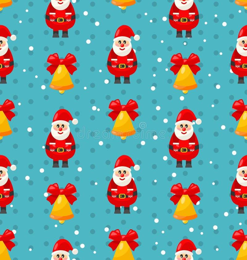 Download 与圣诞老人的圣诞快乐无缝的样式 向量例证. 插画 包括有 五颜六色, 装饰, 例证, 前夕, 背包, 模式 - 62529738