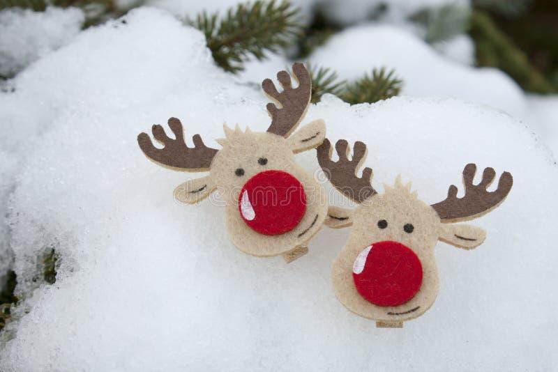 与圣诞节&新年快乐结婚! 免版税库存照片
