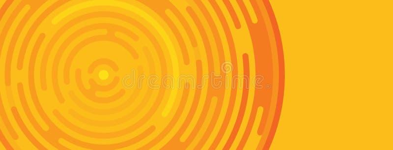 与地方的万圣夜模板文本和商标的, copy—浆糊,橙色万圣夜卡片 库存例证