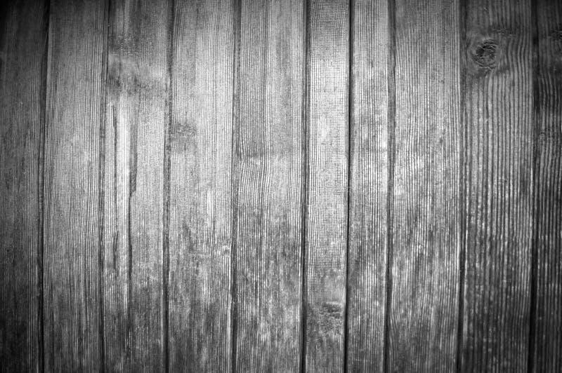 与垂直的木板美好的结构的黑白背景  图库摄影