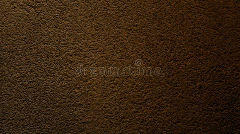 与墙壁的抽象棕色核桃颜色晾干纹理背景 免版税库存图片
