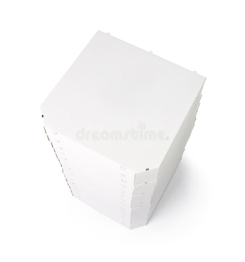 与复制空间的薄饼配件箱 免版税库存图片