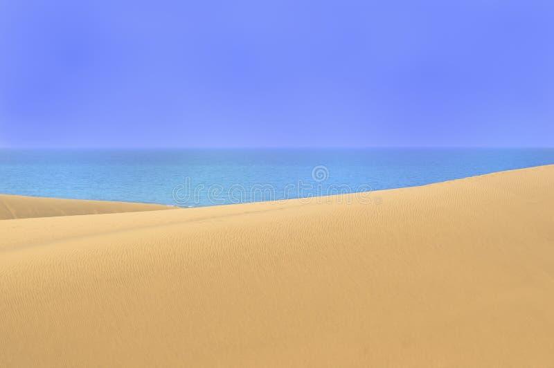 Download 与大加那利岛, Canarian海岛沙丘的美好的风景 库存照片. 图片 包括有 干燥, 横向, 梳子, 海运 - 62538126