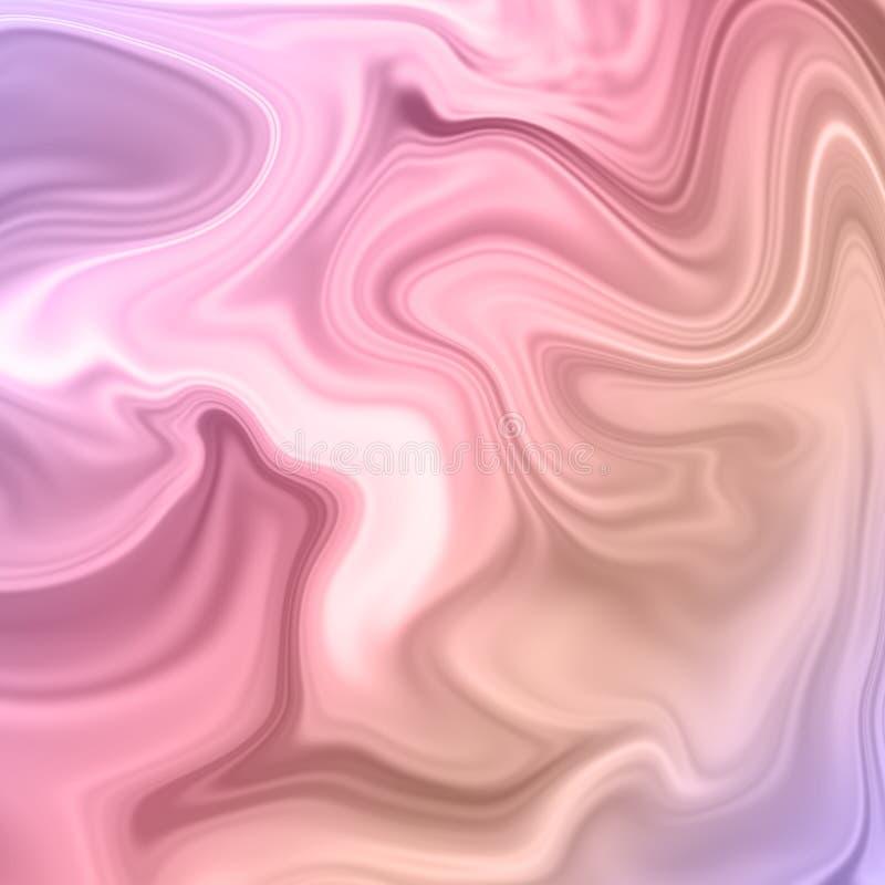 与大理石样式纹理的抽象背景 库存例证