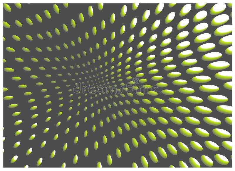与孔的明亮的抽象背景 库存例证