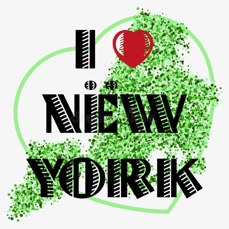 Download 与字法的印刷品我爱NY 向量例证. 插画 包括有 散射, 成套装备, 图象, 装饰, 背包, 海报, 字体 - 72355947