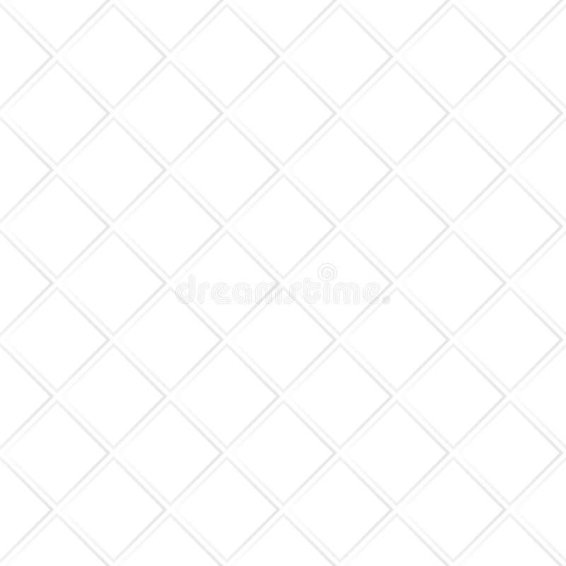 与对角菱形的抽象几何纹理 库存例证