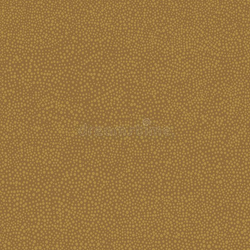 与小点的澳大利亚原史手拉的无缝的传染媒介样式在棕色背景 向量例证