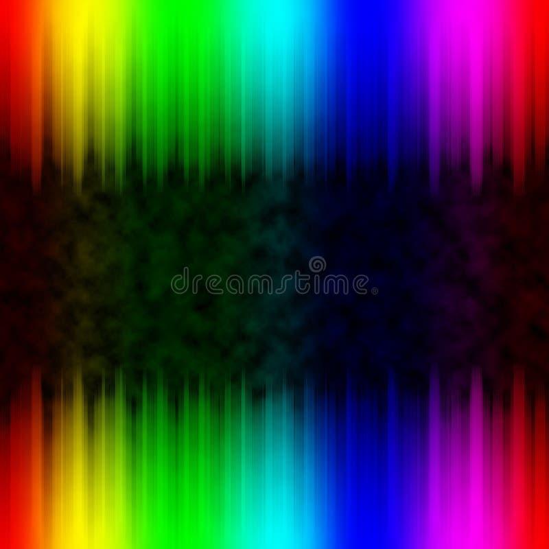 与彩虹光谱颜色的抽象五颜六色的背景 库存照片