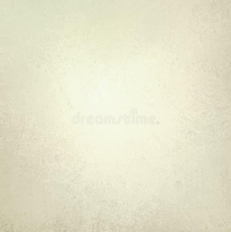 与微弱的葡萄酒纹理的白色背景 库存照片