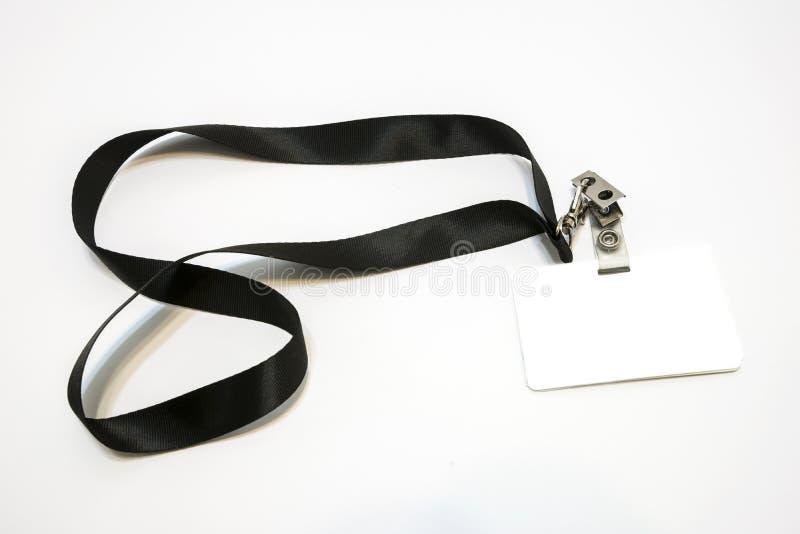 与徽章的短绳 库存图片