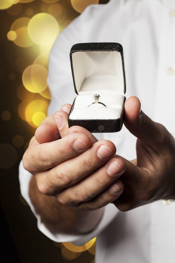与我结婚! 免版税图库摄影