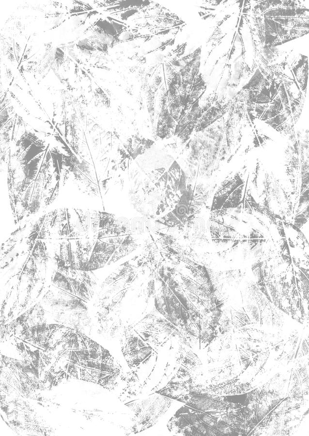 与手印的laeves的背景 库存图片