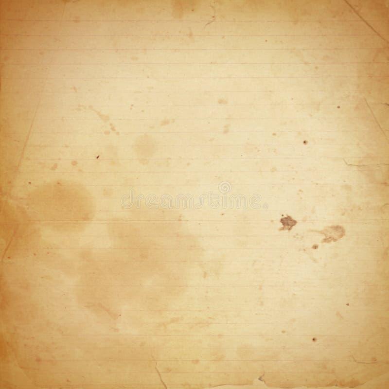 老有斑纹的纸 皇族释放例证