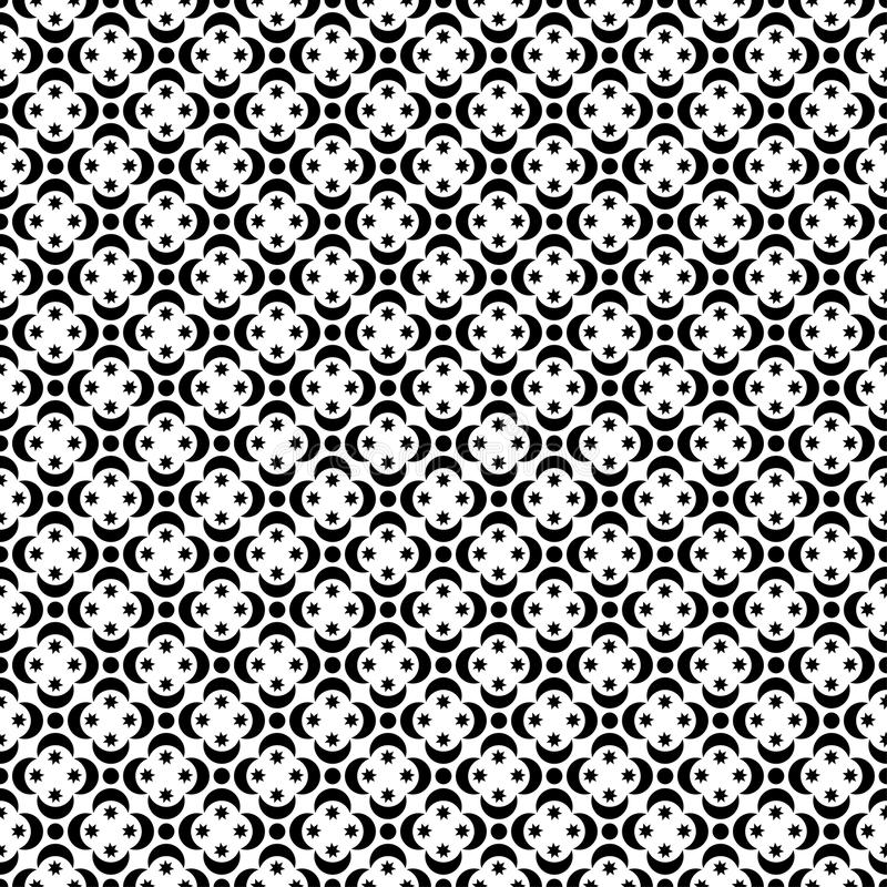 Download 与抽象图的无缝的黑白装饰背景 库存例证. 插画 包括有 装饰品, 几何, 投反对票, 无缝, 扉页, 地毯 - 62532616
