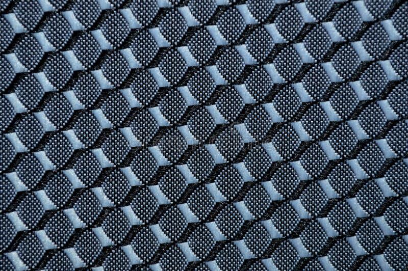 与抽象样式的织地不很细织品 免版税库存图片