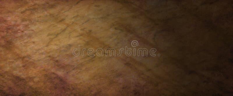 与抽象线粒状难看的东西纹理、岩石或者石墙背景样式和全部的使有大理石花纹的棕色背景纹理  皇族释放例证