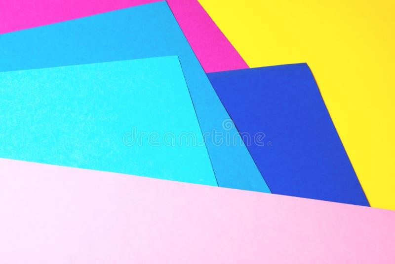 与拷贝空间的摘要不同的多彩多姿的背景 免版税图库摄影