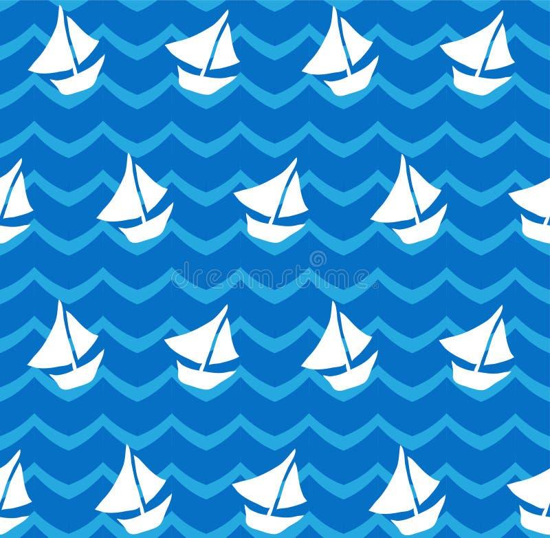 Download 无缝的样式 向量例证. 插画 包括有 打印, 船舶, 大麦, 风格化, 装饰, 水色, 靠山, 模式, 重复 - 30336862