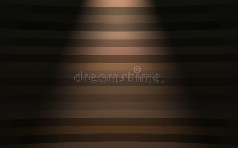 与斑点光的五颜六色的背景 库存例证