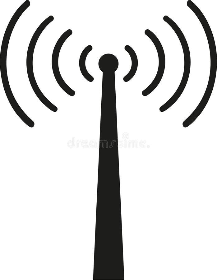 与无线信号的招待会塔