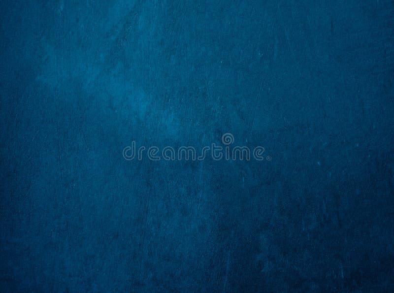 与明亮的干净的海军wh的蓝色背景摘要迷离梯度 免版税图库摄影