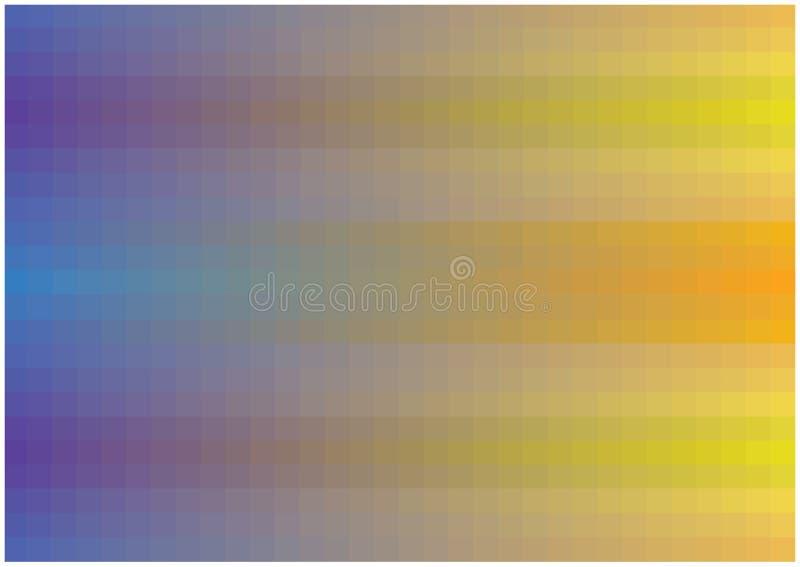 与明亮的流动的梯度的抽象传染媒介背景摆正 皇族释放例证