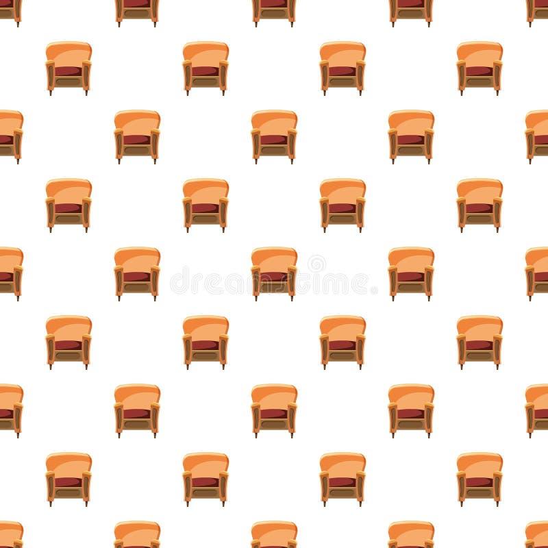 与木修剪样式的椅子 皇族释放例证