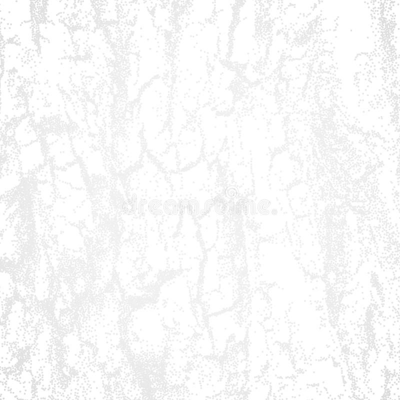 与木外壳dotwork纹理的抽象白色背景或 向量例证