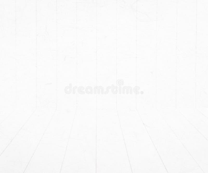 与木样式的抽象白色背景 皇族释放例证