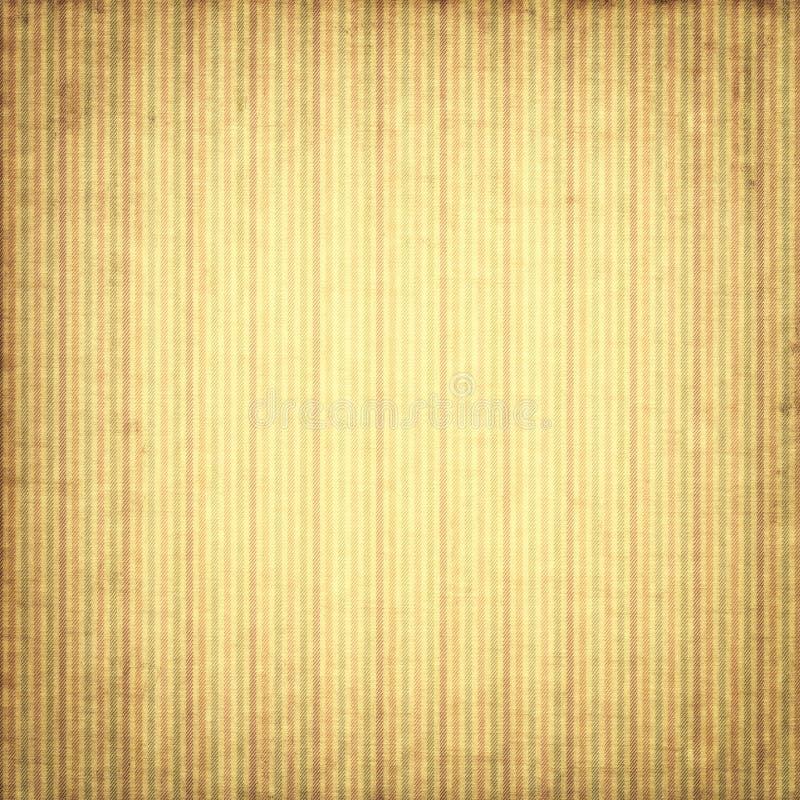 与条纹的葡萄酒纸背景 库存图片