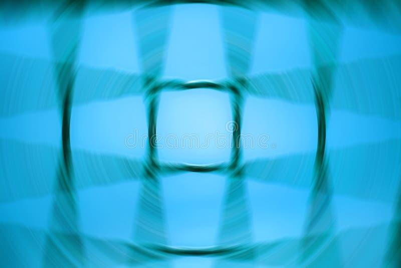 与栅格的转动的蓝色圈子 皇族释放例证