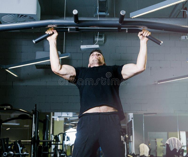 与标志横线的体育锻炼 免版税图库摄影