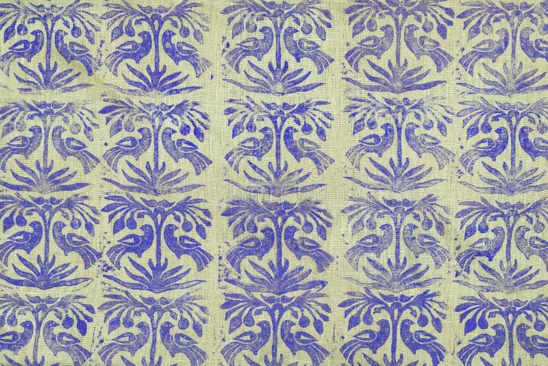 与样式的织品 免版税图库摄影