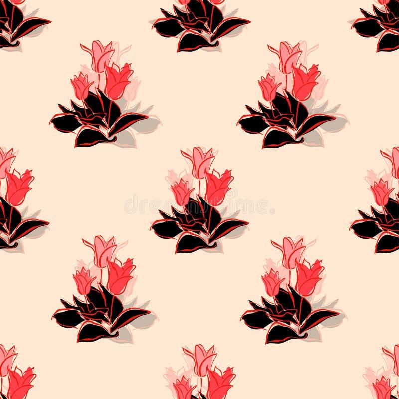 Download 无缝的样式 向量例证. 插画 包括有 夏天, 靠山, 滚动, 淡色, 附庸风雅, 装饰品, 织品, 设计 - 30335171