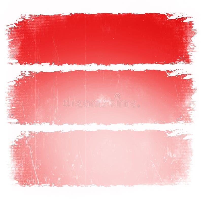 与框架例证模板的珊瑚绘画的技巧 文本clipart的桃红色边界 有copyspace布局的社会媒介岗位 grunge 皇族释放例证
