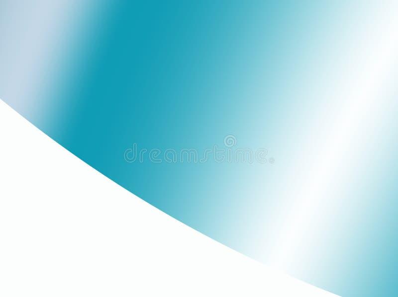 与梯度和一个白色角落的小野鸭抽象背景 向量例证