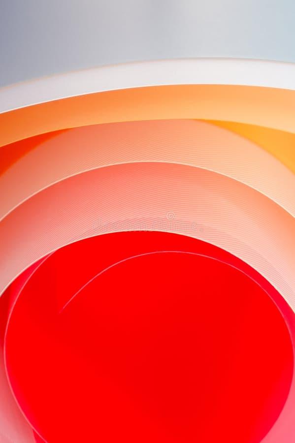 与梯度的五颜六色的板料 背景照片 向量例证