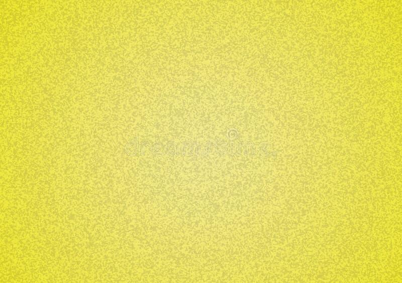 与梯度的简单的黄色织地不很细背景 免版税图库摄影