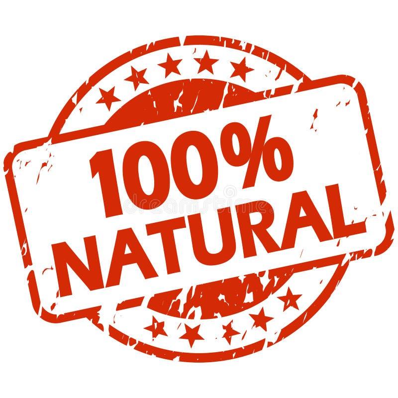 与横幅100%的红色难看的东西邮票自然 皇族释放例证