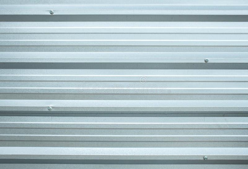 与正方形的无缝的样式的发光的金属在3D形状和光树荫下现代作为作为Bac或屋顶的内部/外部的使用的墙壁 免版税库存图片
